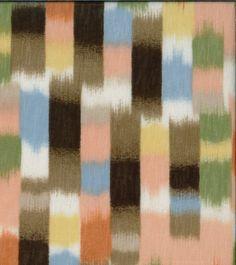 Sunwashed Meadow Slub Knit Stripe Pastels