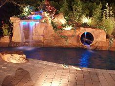 tropical pool by AquaFX