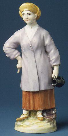 Imperial Porcelain Manufactory, St. Petersburg | Peasant Woman from Ingria (Ingermanland) | Russian, St. Petersburg | The Met