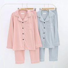 Cozy Pajamas, Pjs, Modern Filipiniana Dress, Cute Pajama Sets, Classic Skirts, Cotton Pyjamas, Comfy Casual, Pajamas Women, Korean Fashion