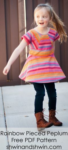 Colorful Dress sewing Pattern by @shaunawightman Now I just need to hire someone to sew it for me. LOL