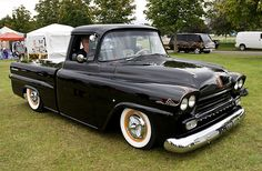 1958 Chevrolet Fleetside Pickup by Car Crazy Rob, via Flickr