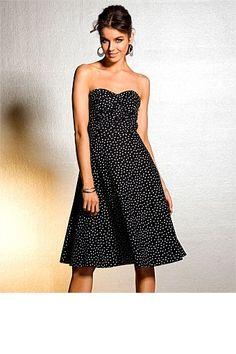 Evening Cocktail Dress - Dresses - Emerge Polka Dot Dress