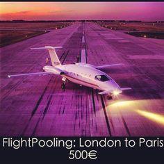 "Flight-pooling / Private jet sharing ~ ""Rent a JET . Fly like a ROCKSTAR!""  See http://www.flightpooling.com/"