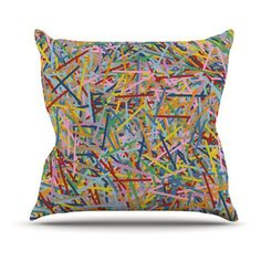 Kess InHouse Project M More Sprinkles Indoor/Outdoor Throw Pillow - PM1001AOP0