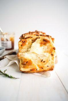 Apricot and Lavender Marmalade Pull-Apart Bread