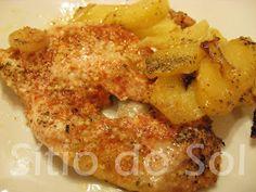 Sítio do Sol: Peito de frango no forno