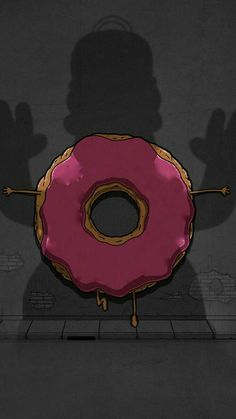 Read 🍩Donuts🍩 from the story ✘FONDOS DE PANTALLA✘ by Titiwoofie (TitiwoofieCZ) with reads. Dope Wallpapers, Cute Cartoon Wallpapers, Simpson Wallpaper Iphone, Iphone Wallpaper, Homer Simpson Drawing, Donut Drawing, Donut Images, Rick And Morty Poster, Simpsons Drawings
