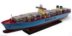 MC-KINNEY MØLLER Triple-E Maersk Container Carrier Ship Model 40""