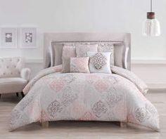 I found a Sedona Coral & Tan 6-Piece Queen Comforter Set at Big Lots for less. Find more at biglots.com!
