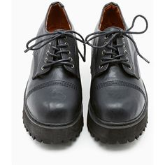SixtySeven Delano Oxford (320 MYR) ❤ liked on Polyvore featuring shoes, oxfords, boots, zapatos, black, chunky black shoes, vegan shoes, black platform shoes, punk shoes and black oxford shoes