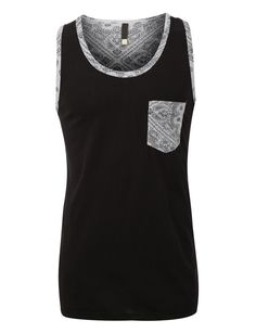 Look casual and trendy in this premium casual tank top. It's perfect for outdoor activities or when grabbing lunch with friends. Layer a hoodie jacket with dark jeans for warmth and style. Feature - 1