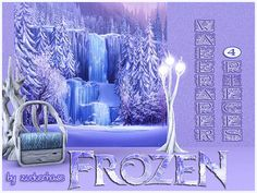 Frozen wall by Zucherhase - Sims 3 Downloads CC Caboodle
