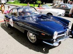 Alfa SSs make excellent vintage race event cars.