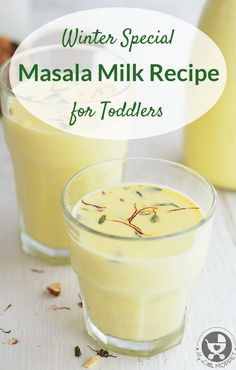 Winters need special drinks that can offer warmth and increase immunity. This Masala Milk Recipe for toddlers does both and is delicious as well!
