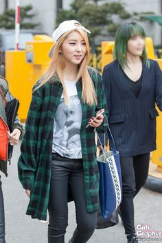 4Minute SoHyun... Why did they blur out Jiyoon's face?!?
