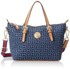 Tommy Hilfiger Shopper Square Monogram Small Convertible Travel Tote, Navy/Lapis, One Size Tommy Hilfiger http://www.amazon.com/dp/B00OIZFH9C/ref=cm_sw_r_pi_dp_rwe-ub0FMJD9N