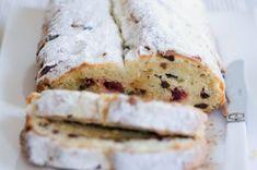 Tvarohová štóla s rozinkami Czech Recipes, Vanilla Cake, Feta, Banana Bread, Cheesecake, Sandwiches, Cooking Recipes, Baking, Sweet