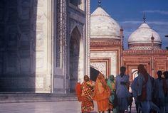 INDIA 1995 - Agra आगरा, Uttar Pradesh - Al Taj Mahal  (foto G.Arcese)