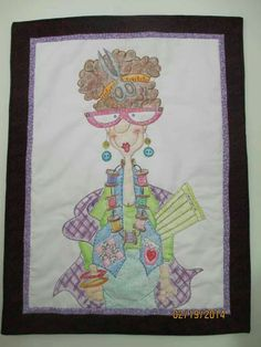 Quilt diva wall anging