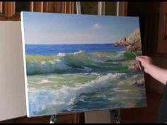 "FREE! Full video ""transparent wave"" painter Igor Sakharov"