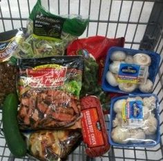 Eating a low carb diet is difficult, but we found this awesome low carb shopping guide for your next trip to the grocery store! | craft-corner.co