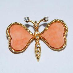 Broche Papillon.