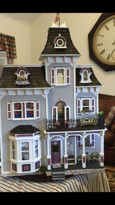 Beacon Hill Dollhouse, Small World, Doll Houses, House Ideas, Miniatures, Exterior, Dolls, Craft, Building