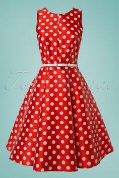 Closet Red Polkadot Dress 102 27 25650 20180508 0001w