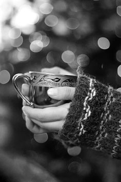 It's proven that having something warm in your hands will improve your mood--try it!