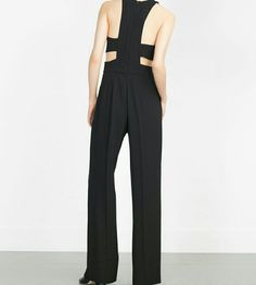 HP Zara jumpsuit Super cute and sexy. Pair with pumps or a flat sandal. Amazing!! Zara Pants Jumpsuits & Rompers