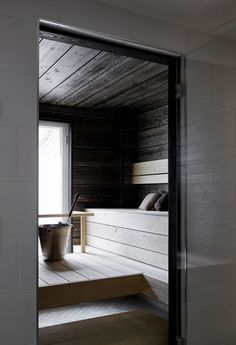 Sauna Design, Mountain Modern, Saunas, Home Spa, Tuli, Interior Design, Architecture, Thesis, Cabins