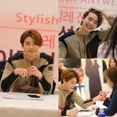 151031 MILLET fansigning event in Busan - Lee Jong Suk