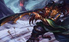 Tryndamere - reinos en guerra | League of Legends