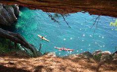 Sea kayaking and snorkeling Dubrovnik Kolocep Island $70