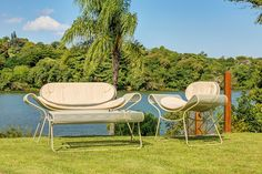 Móveis Green House - Móveis para área externa - Móveis para Jardim - Móveis para Varanda - Móveis para Terraço - Garden Furniture - Beach Furniture