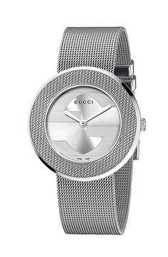 Gucci 'U-Play' Round Mesh Watch | Nordstrom women watch #bijoux, #bijouxfantaisiefemme, #montresfantaisies, #montresfemme