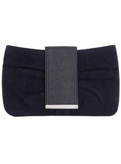 Navy bow clutch