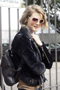 "meoutfit : meoutfit # 1564 ""Chiodo Soffice - Lindsey Wixson -..."