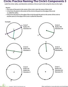 Parts of a Circle: Learning with Mr. Frog | Parts Of A Circle ...