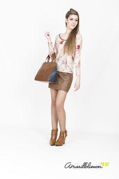 Mucho romanticismo y estilo naïf en la #colección #amarillolimon #otoño #invierno #2015 #2016. Encuentra las prendas que más te gustan en nuestra tienda on line: http://www.amarillolimon.com/es/100-eshop