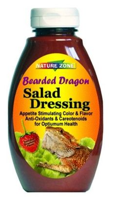 Nature Zone Salad Dressing for Bearded Dragons Appetite Stimulating Flavor 12oz