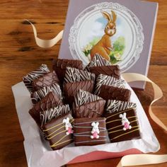 Easter Chocolate Covered Graham Crackers