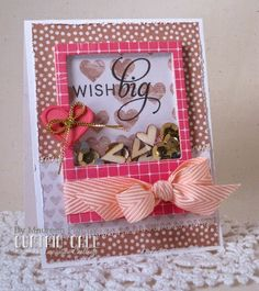 Curtain Call Inspiration Challenge: Pink & Pretty. Card by design team member Maureen Plut using products from Pretty Pink Posh.