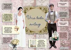 Tips para  boda vintage
