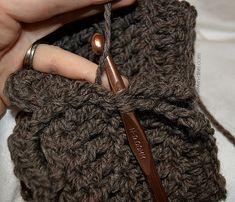 Quick Crocheted Boot Cuff