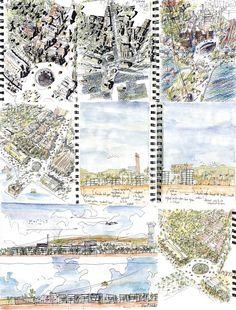 Proyecto del mes: Gascón+Lleida > Viviendas en Barcelona.   HIC Arquitectura