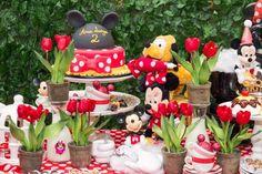 decoracao festa confeitaria turma do mickey