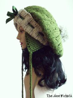Aviator Tam Knitting Pattern Nellas Telrunya by TheJaneVictoria, $5.00  Someone make this for me!!!