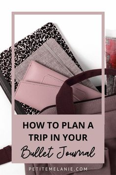 The Bullet Journal collections you absolutely need to plan your next vacation - Petite Mélanie Bullet Journal Travel, Bullet Journal Layout, Bullet Journal Inspiration, Rome Travel, New York Travel, Bujo, Mental Map, Plan My Trip, Brain Dump